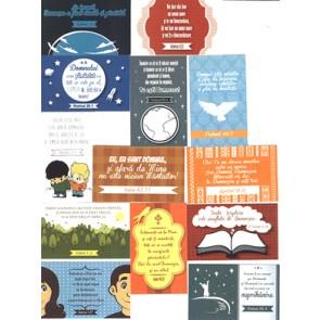 Set carduri cu versete biblice_Iubesc Legea Ta