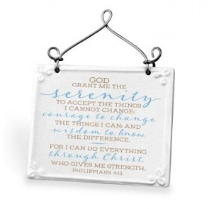 Placheta ceramica – Serenity Prayer