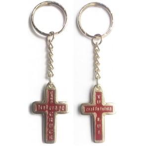 Breloc metal «Cand Isus era pe cruce...»_2