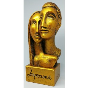 """Statueta """"Impreuna"""""""