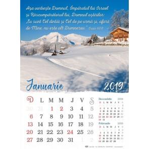 Calendar 2019 CC – format mare