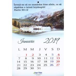 Calendar 2019 AV – format A4