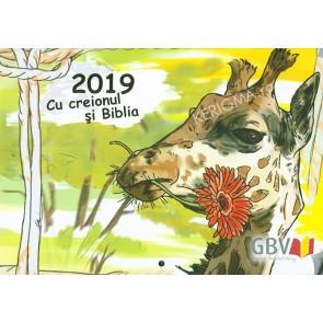 """Calendar 2019 - """"Cu creionul si Biblia"""""""