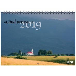 """Calendar 2019 """"Cand privesc…"""""""