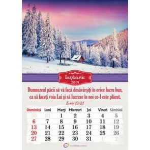 Calendar crestin Peisaje 2019