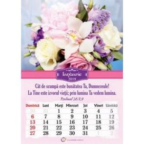Calendar crestin Flori  2019