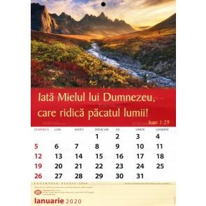 Calendar 2020. Lb. rom. (TBS)