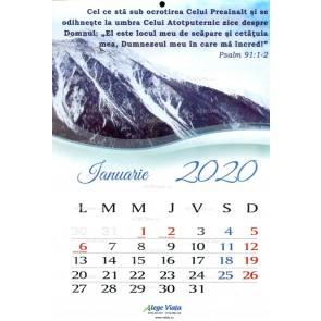 Calendar 2020. AV