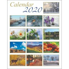 Calendar de perete 2020. SBR