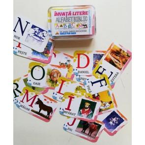 Învață literele. Alfabet biblic