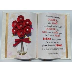 """Carte """"Binecuvântat să fie Domnul, căci ascultă glasul..."""""""