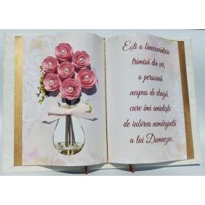 """Carte """"Ești o binecuvântare trimisă din cer..."""""""