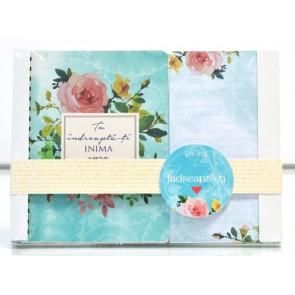 Notes cu mesaje & bloc notes cu magnet S001. Tu îndreaptă-ți inima spre Dumnezeu