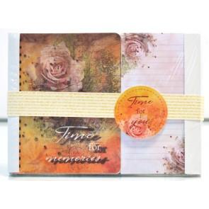 Notes cu mesaje & bloc notes cu magnet S005. Time for memories