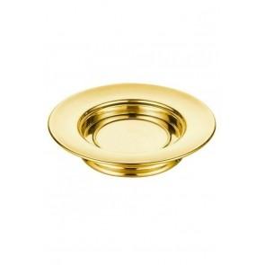 Farfurie pentru pâine - MODEL 2 - auriu lucios
