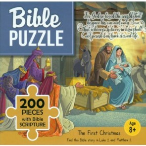The First Christmas. Puzzle biblic 200 piese
