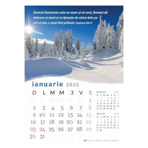Calendar de perete 2022 - format mare A3