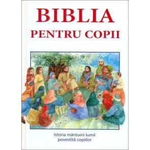 Biblia pentru copii. Istoria mântuirii lumii povestită copiilor