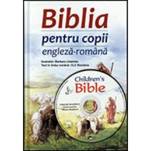 Biblia pentru copii bilingva -- Engleza-Romana + CD engleza
