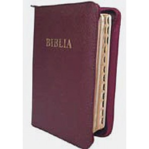 Biblia [editie deLuxe, piele, bordo] M-B-F.SBIR