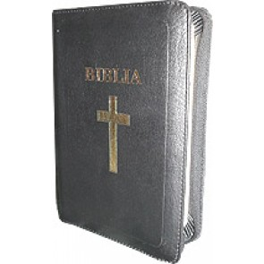 Biblia [editie deLuxe, piele, negru] MJ-N-F.SBIR