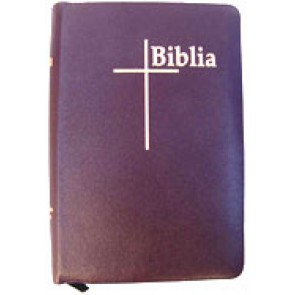 Biblia THOMPSON De Luxe mijlociu, bordo, fermoar