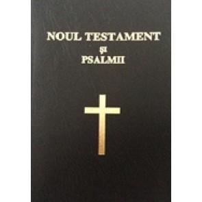 Noul Testament si Psalmii [negru, cu cruce]