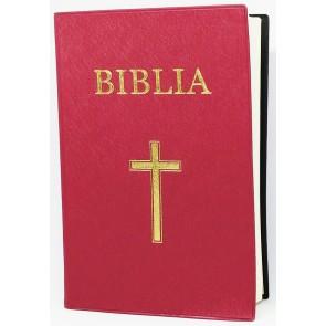 Biblia. Vechiul si Noul Testament [format mijlociu, rosu] SBIR