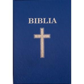 Biblia. Vechiul si Noul Testament [format mijlociu, albastru] SBIR
