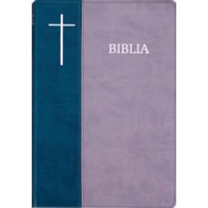 Biblia SBIR (Verde/Gri; fermoar)