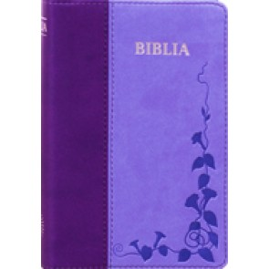 Biblia SBIR (Albastru/Mov)