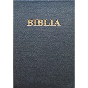 Biblia. Vechiul si Noul Testament [format mic]. SBR, cop. rigida, negru, fara cruce