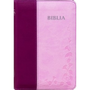 Biblia SBIR (Roz/Bordo, fara fermoar)