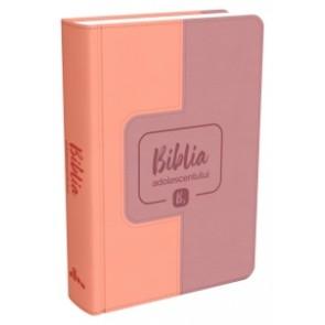 Biblia adolescentului - copertă roz