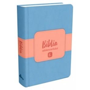 Biblia adolescentului - copertă albastră