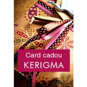 Card cadou KERIGMA