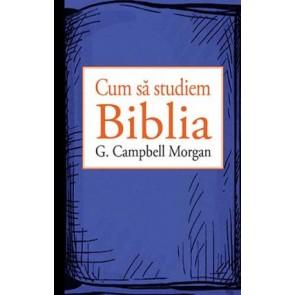 Cum sa studiem Biblia